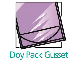 Doy pack gusset